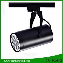 โคมไฟ LED Track Light 12W เป็นชุดโคมไฟใช้กับรางไฟโคมสีดํา
