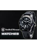 นาฬิกาข้อมือSmith-Wesson Watch Paratrooper Quartz Analog สายข้อมือยางคุณภาพดี