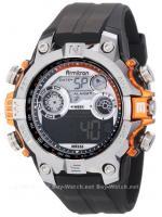 นาฬิกาข้อมือผู้ชายแนวสปอร์ตของแท้ Armitron Sport 408251ORG Digital ดิจิตอล สายข้อมือยาง