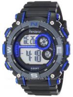 นาฬิกาข้อมือผู้ชายแนวสปอร์ตของแท้ Armitron Sport 408284BLU Digital ดิจิตอล สายข้อมือยาง