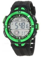 นาฬิกาข้อมือผู้ชายแนวสปอร์ตของแท้ Armitron Sport 408271GRN Digital ดิจิตอล สายข้อมือยาง