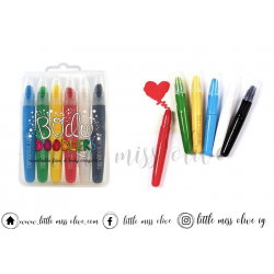 Body Doodlers Washable Face and Body Crayons