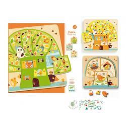 Djeco Puzzle Chez-nut
