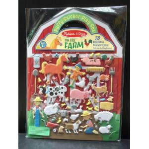 (Puffy Sticker Play Set) On theFarm