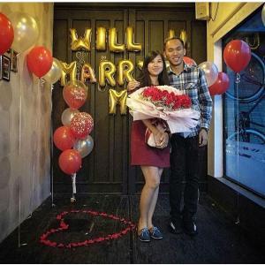 balloons marry,ลูกโป่งแต่งงานกันเถอะ
