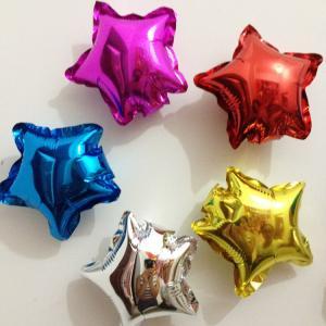 ลูกโป่งฟอยล์ดาว ขนาด 5 นิ้ว Star Foil Balloons