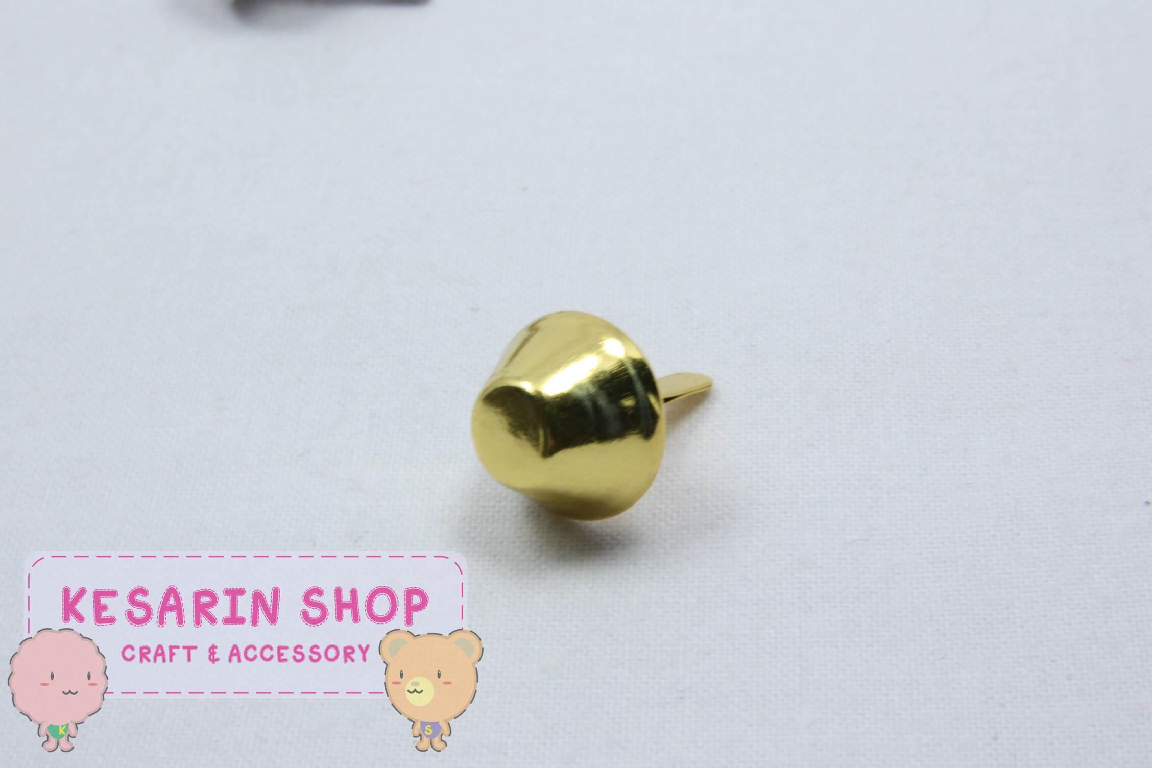 หมุดรองกระเป๋า สีทอง (1เม็ด)