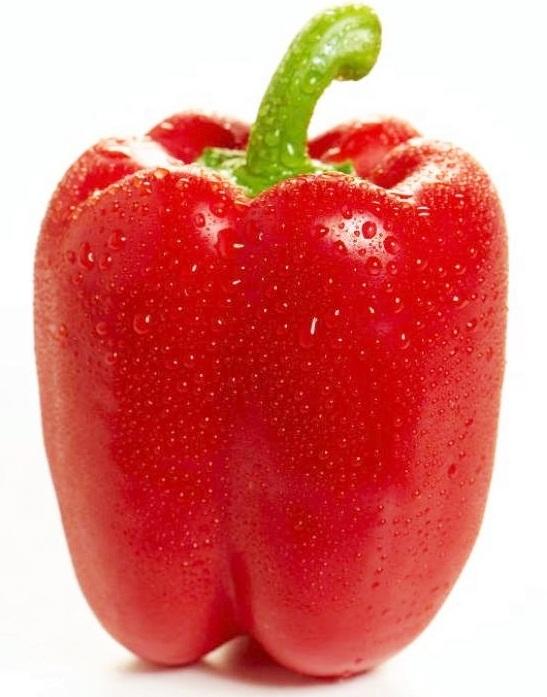 (Whole 1 Oz) พริกหวานสีแดง - Red Sweet Pepper