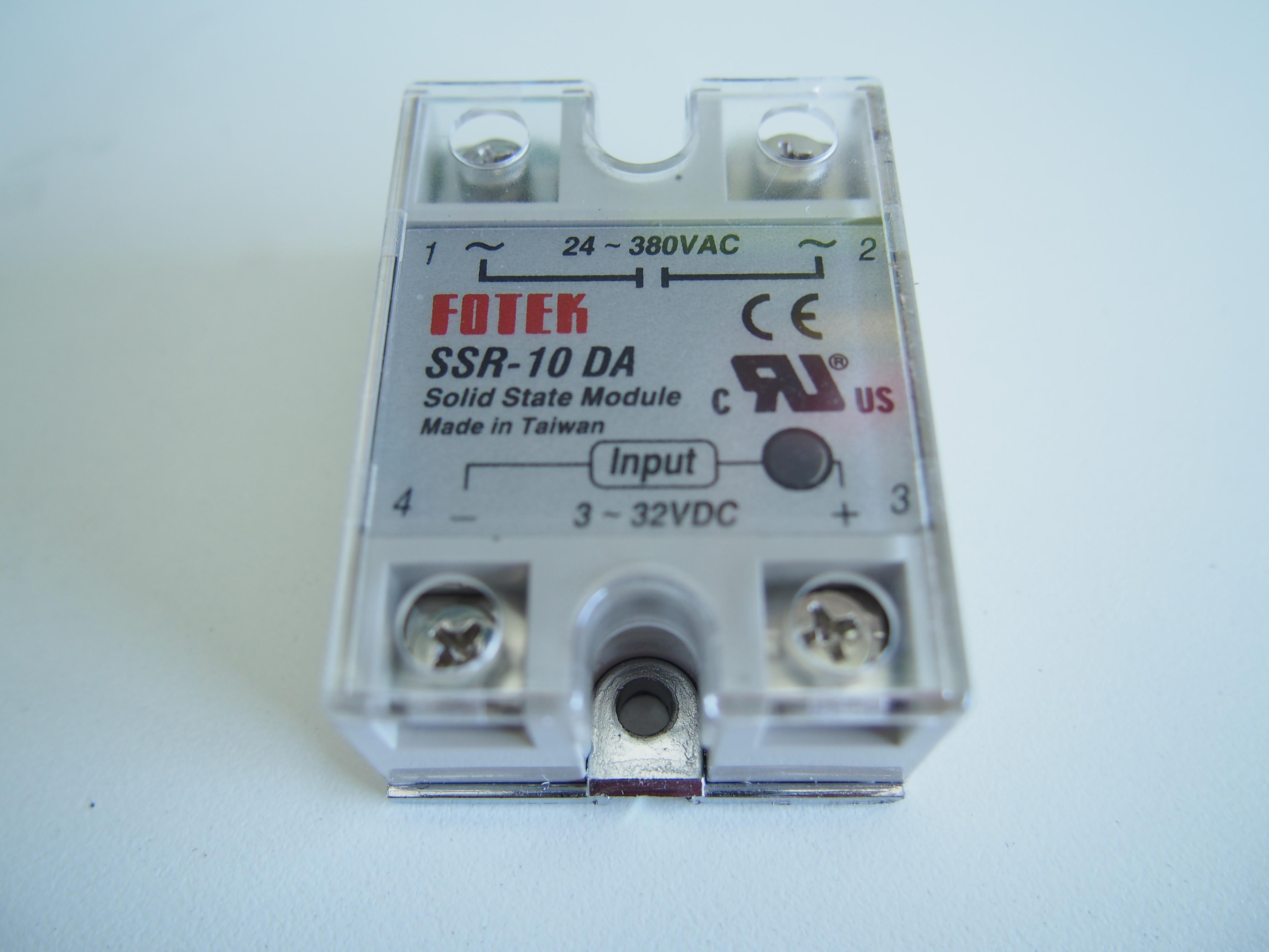 Solid state relay SSR -10DA DC