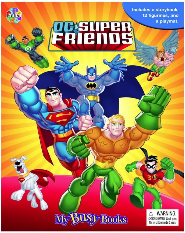 My Busy Book DC Super Friends