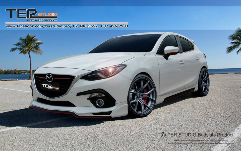 ชุดแต่งรอบคัน Mazda 3 ค่าย TER ( 2014-ขึ่นไป)