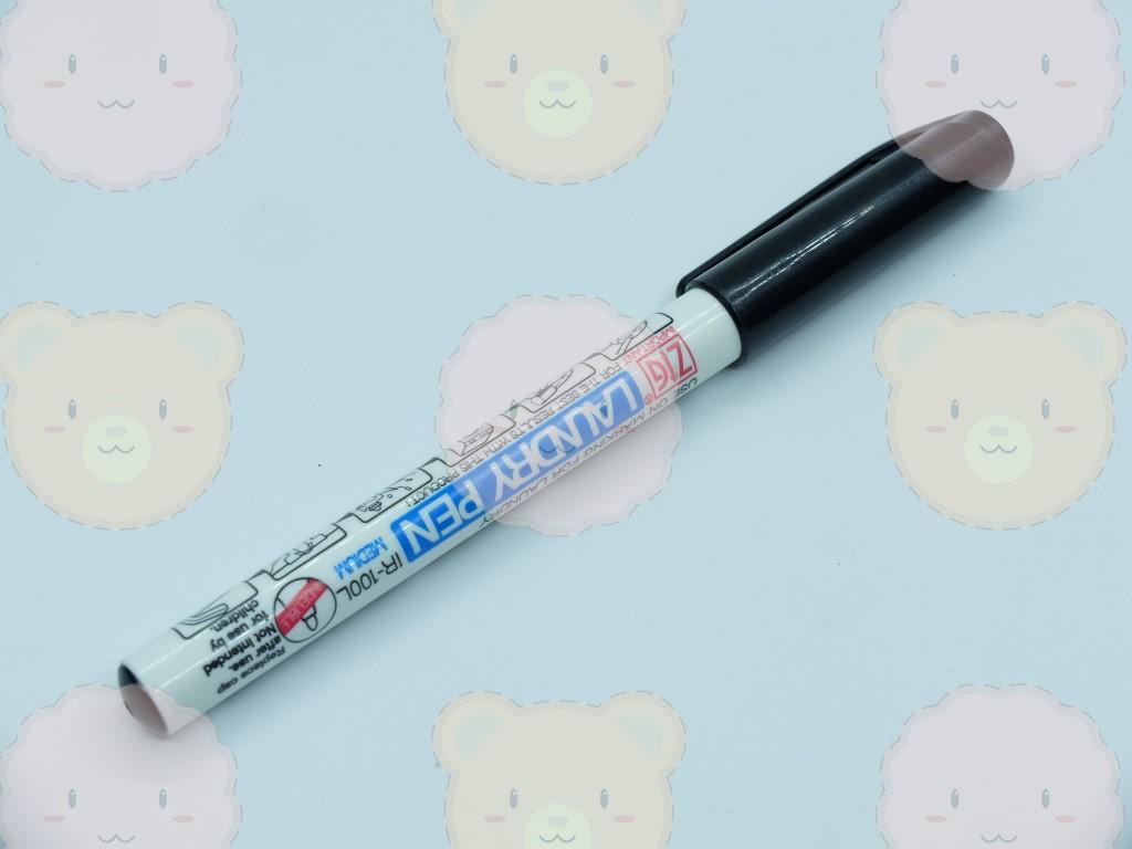 ปากกาเขียนผ้าติดถาวร ยี่ห้อ ZIG สีดำ (ญี่ปุ่น)