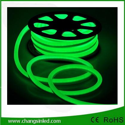 ไฟเส้น Neon Flex LED แบบ AC220V สีเขียว