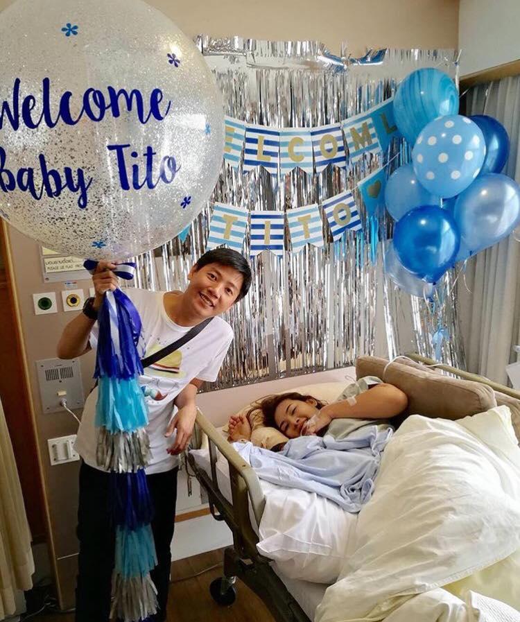 ลูกโป่งแรกเกิด New Born BN 110 ฟรีม่านเงิน 1 ชุด