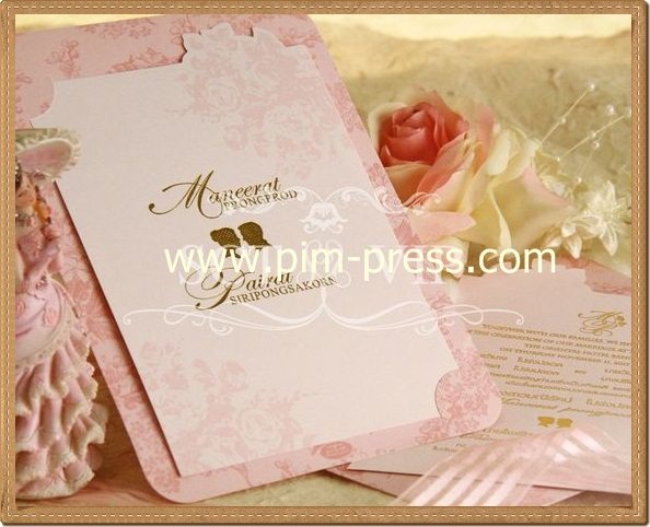 การ์ดแต่งงาน VIP-SCT หน้าเดียว (29-0221,29-0222,29-0228)