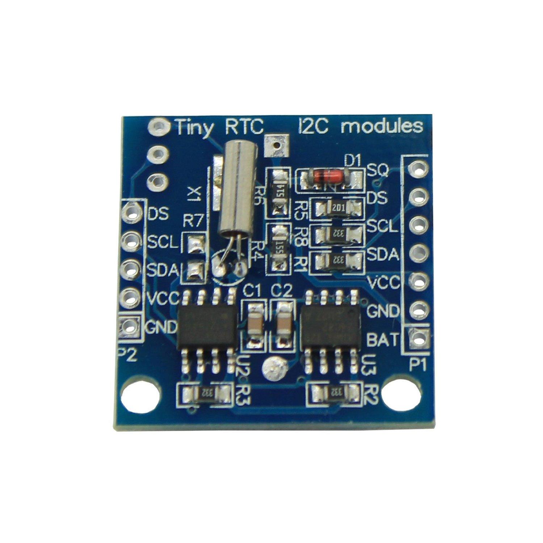 Tiny RTC I2C modules 24C32 memory DS1307 clock RTC module