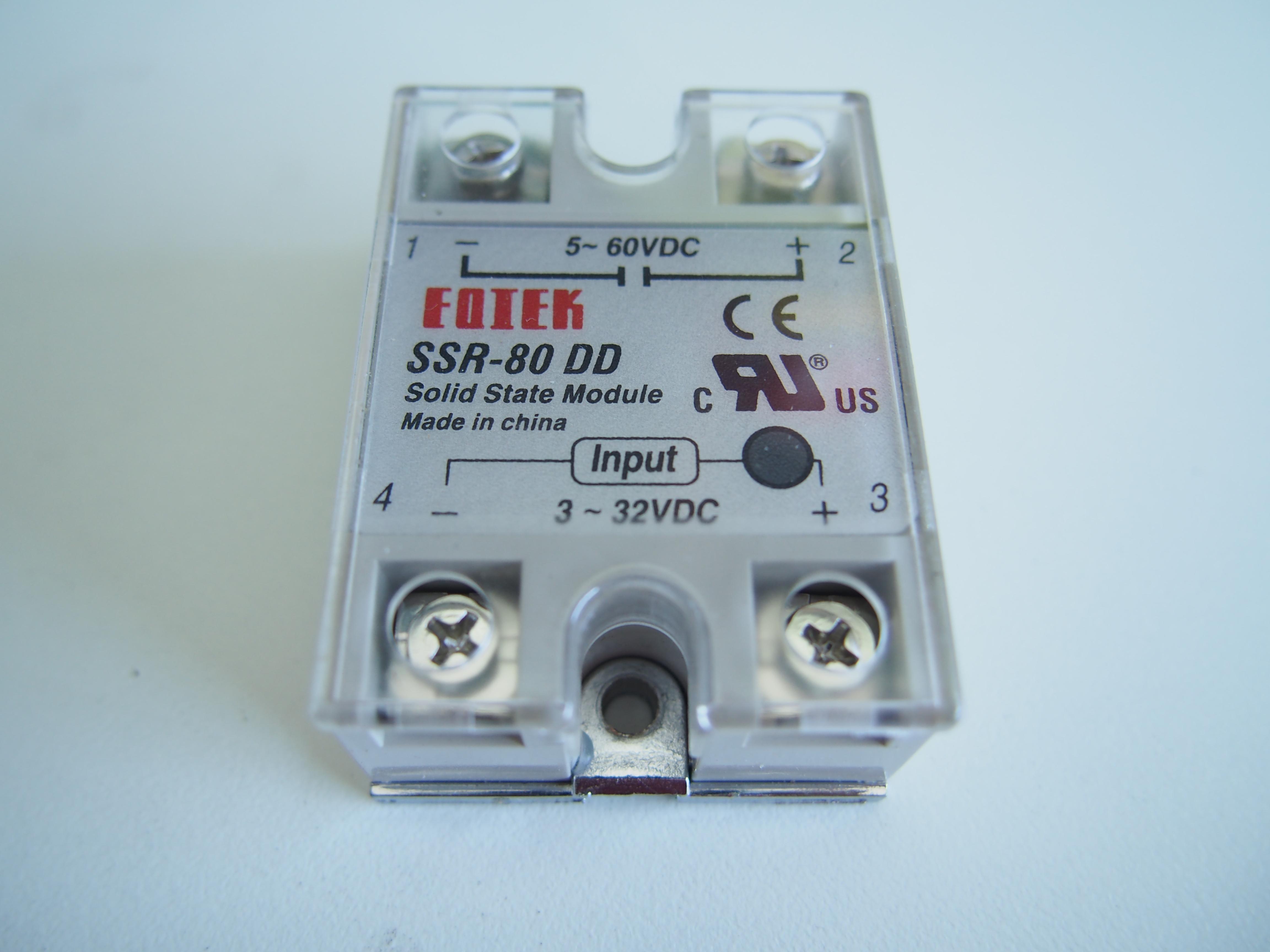 โซลิดสเตตรีเลย์ Solid state relay 80A SSR -80DD