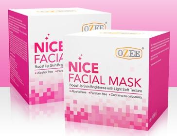 OZEE Nice Facial Mask โอซีไนซ์เฟเชียลมาส์ก 10gm ผลิตภัณฑ์ NEW ITEM BY OZEE ครีมมาส์ก ที่ใส่ใจทุกรายละเอียด สูตรที่ดีที่สุด เพื่อที่สุดแห่งผิวสวยสมบูรณ์แบบ...เพื่อคุณ