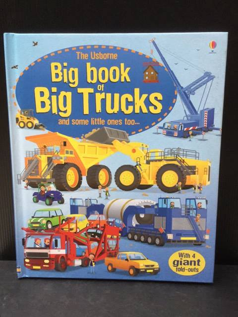 (The Usborne) Big Book of Big Trucks