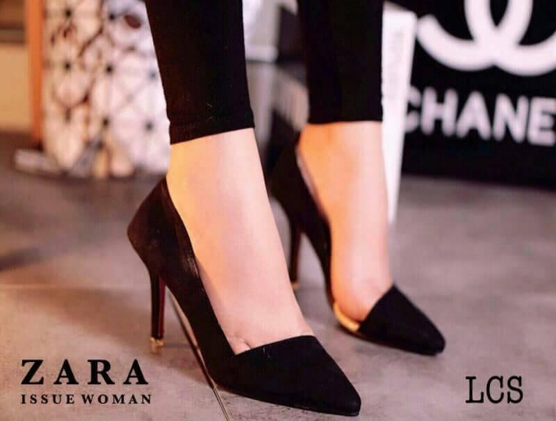 Zara ส้นสูงหัวแหลม