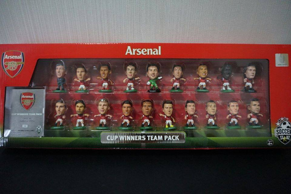 FA CUP WINNERS TEAM PACK 2013/14 - ARSENAL