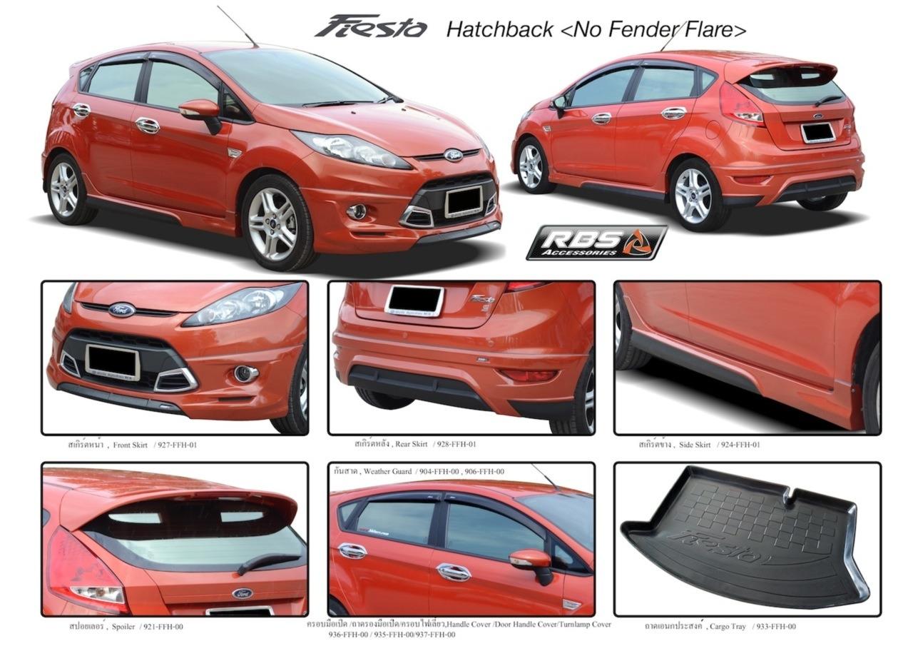 ชุดแต่งรอบคัน Fiesta (5 ประตู) จำนวน 4 ชิ้น