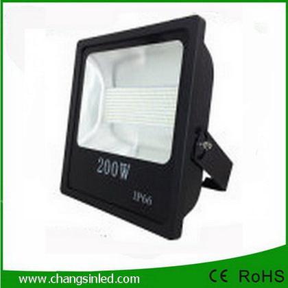 โคมไฟ LED Slim Flood Light Eco Series 200w