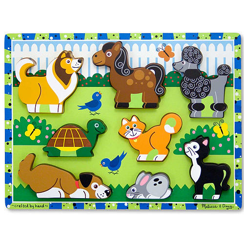 Fresh Start Chunky Puzzle Pets