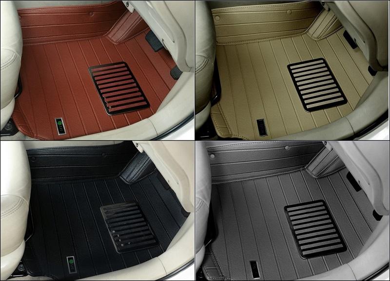 ถาดปูพื้นรถยนต์ 5D เข้ารูป 100 % Toyota NEW FORTUNER 2015 2016