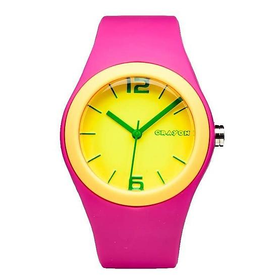 Crayon นาฬิกาข้อมือ รุ่น CR3.180-YW-PK
