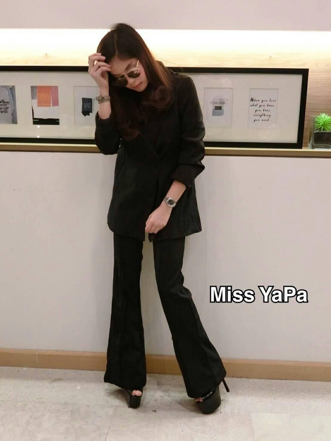 เสื้อสูทตัวยาว Miss YaPa