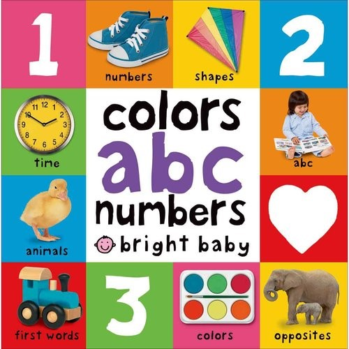 Bright Baby Colors abc numbers