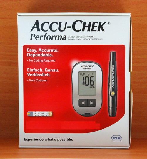 เครื่องตรวจน้ำตาล เบาหวาน ACCU-CHEK Performa