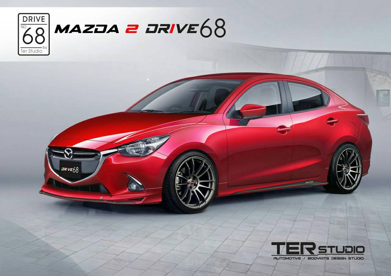 ชุดแต่งรอบคัน Mazda 2 ค่าย TER (2014-ขึ่นไป)
