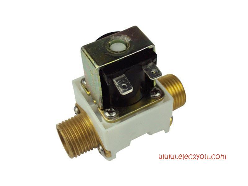 """โซลินอยด์วาล์ว Solenoid valve 1/2"""" 220 V"""
