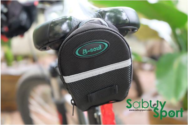 กระเป๋าติดอานจักรยาน ยี่ห้อ B-soul