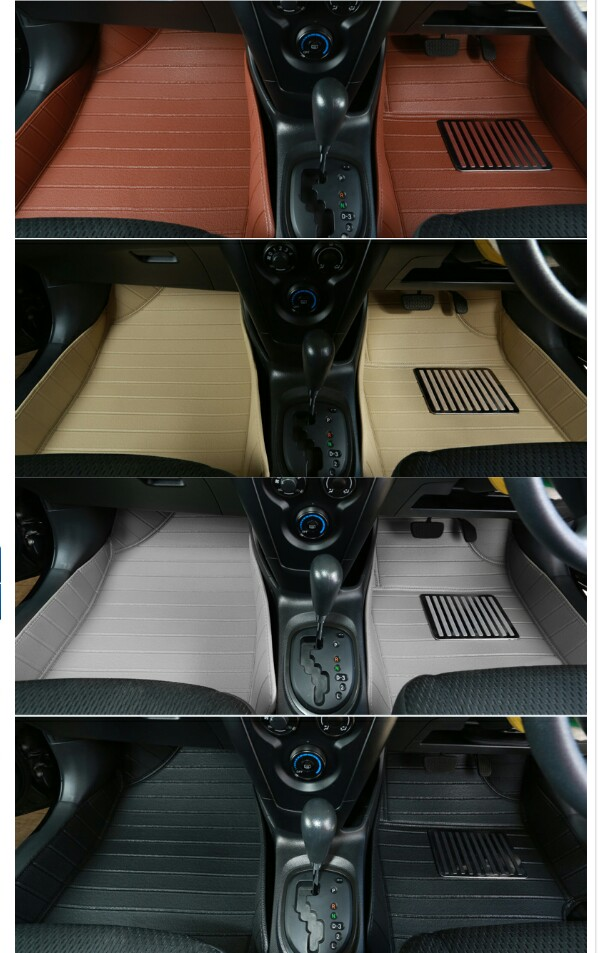 ถาดปูพื้นรถยนต์ 5D เข้ารูป 100 % Toyota Yaris