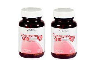 Vistra Coenzyme Q10 30 mg (ของแถม)