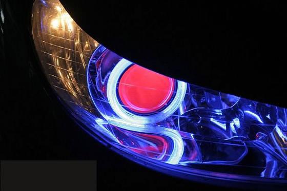 โคมไฟโปรเจ็คเตอร์ ซีนอน Projector XENON แต่งไฟรถยนต์