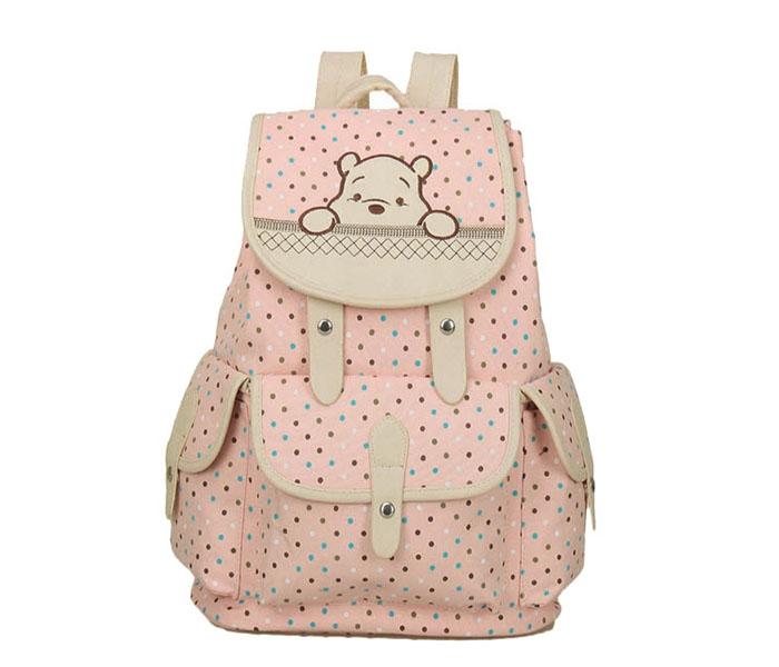 กระเป๋าเป้หมีพูลแบบสวยหวาน