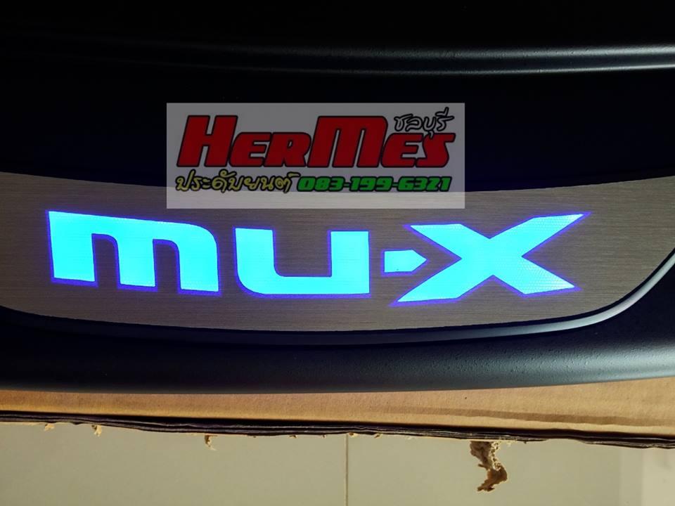กันรอยท้ายแบบมีไฟ Mu-X (2013 ขึ่นไป)