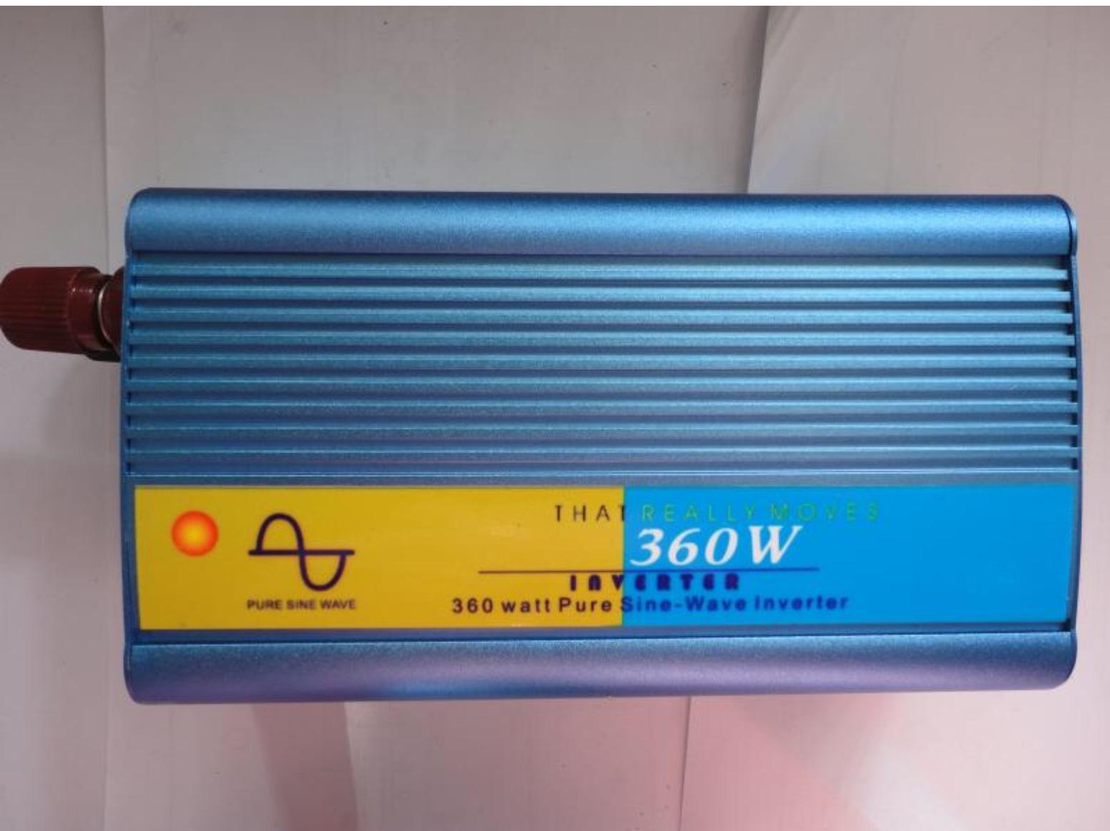 Pure sine wave inverter โดยใช้ EGS002 Driver board
