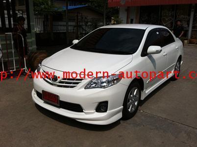 ชุดแต่งรอบคัน Toyota Altis 2010 2011 2012 TRD Camry Style