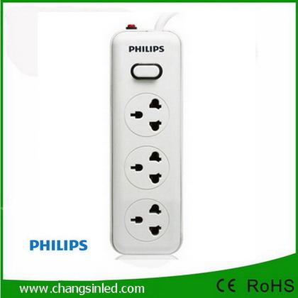 รางปลั๊กไฟ Philips 3 ช่อง 1 สวิตช์ สายยาว 5เมตร