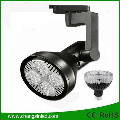 โคมไฟ LED Track Light หลอด PAR30 35W รุ่นCSB โคมสีดำ