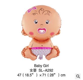 ลูกโป่งเด็กทารกผู้หญิง