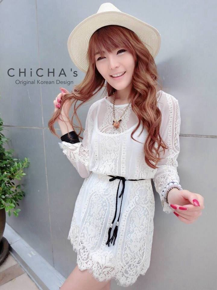 Ally Lace Mini Dress C139-53A02