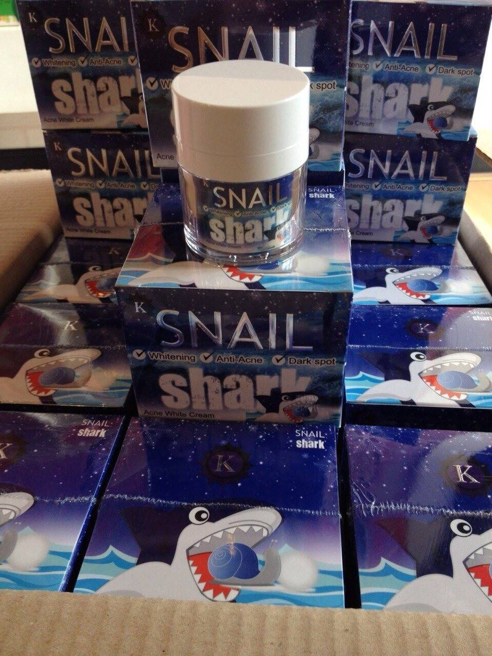 Snail Shark ครีมสเนล ชาร์ค 30 กรัม