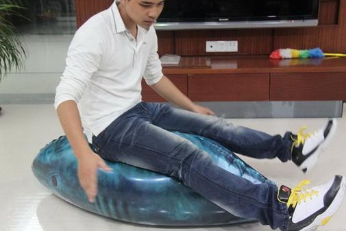 ลูกโป่งปลาฉลามเหมือนจริงสุด