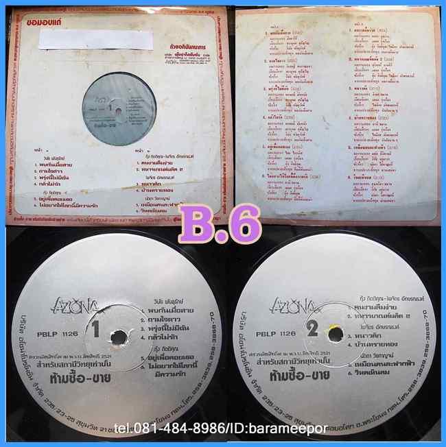 กุ้ง - ไพจิตร - นัดดา - วินัย รวมเพลงจาก AZONA